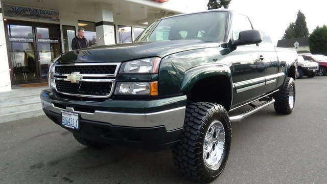 lifted chevrolet trucks for sale near fife puyallup car and truck. Black Bedroom Furniture Sets. Home Design Ideas