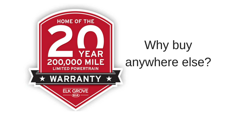 20 year Elk Grove Kia Warranty