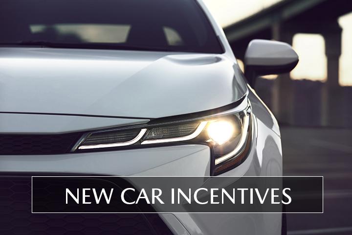 New Car Incentives