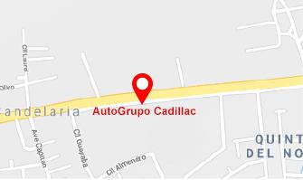 AutoGrupo Cadillac Mapa