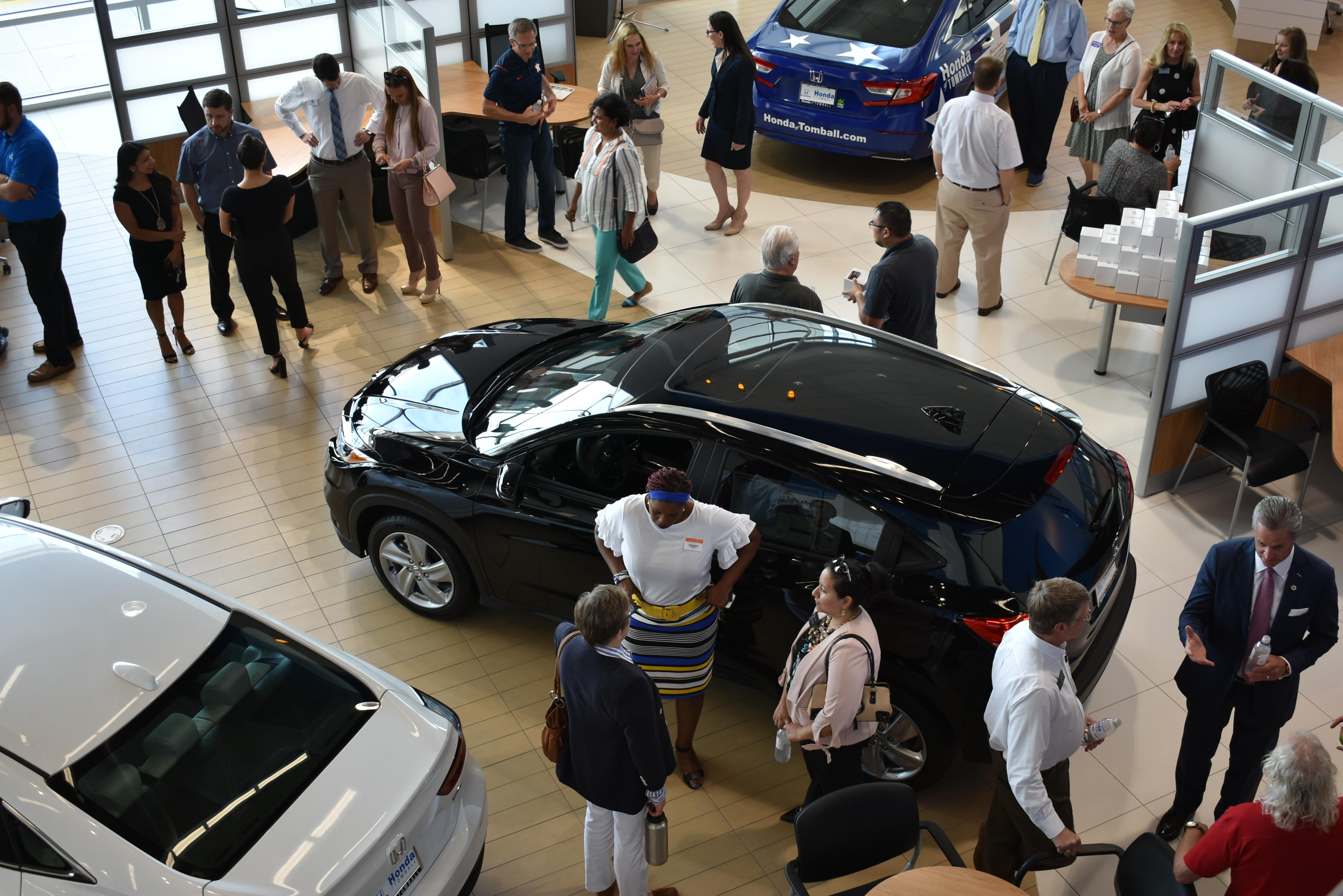 Honda of Tomball Grand Opening – Ariel View