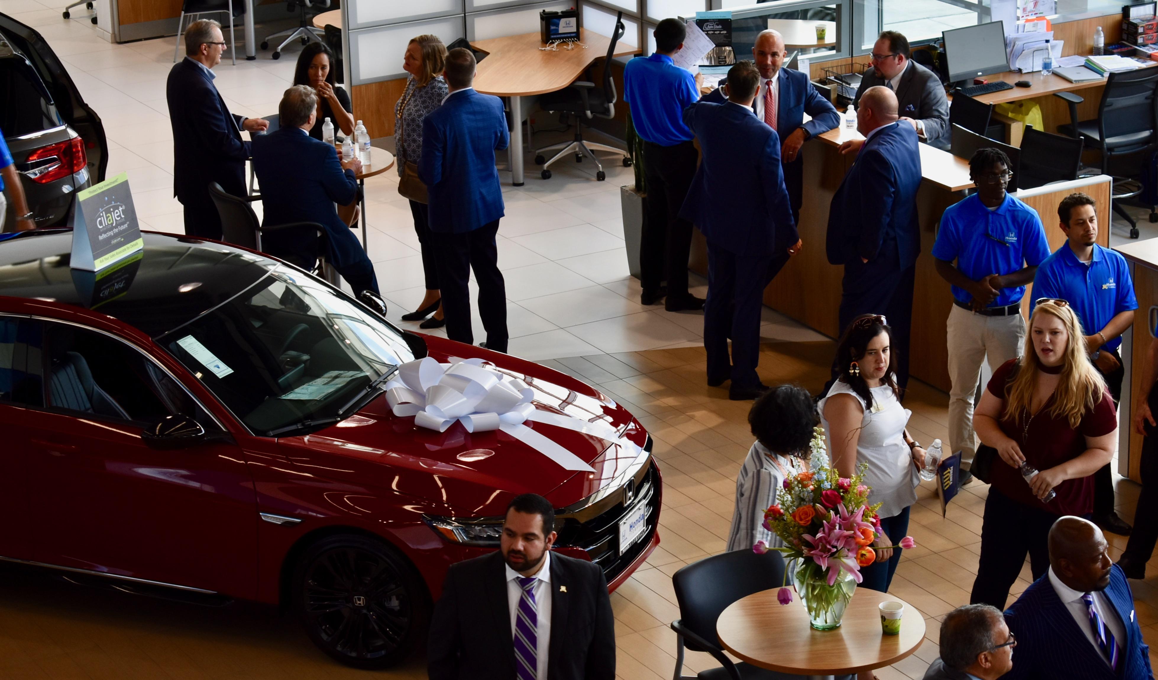 Honda of Tomball Grand Opening – Ribbon Cutting Celebration