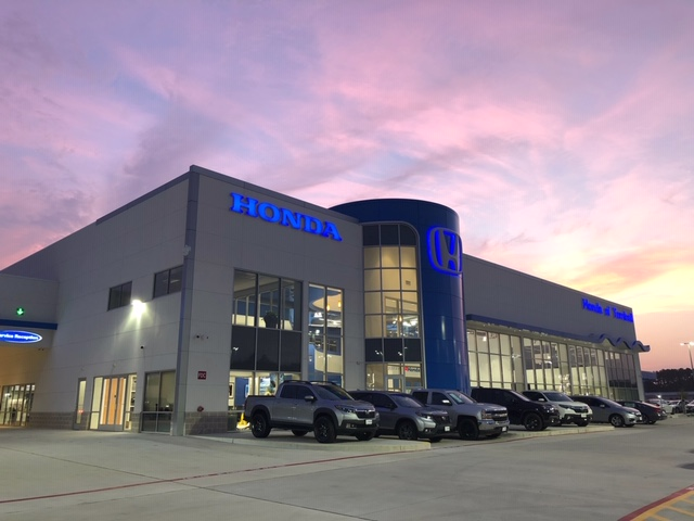 Honda of Tomball Grand Opening – Outside Facility Shot