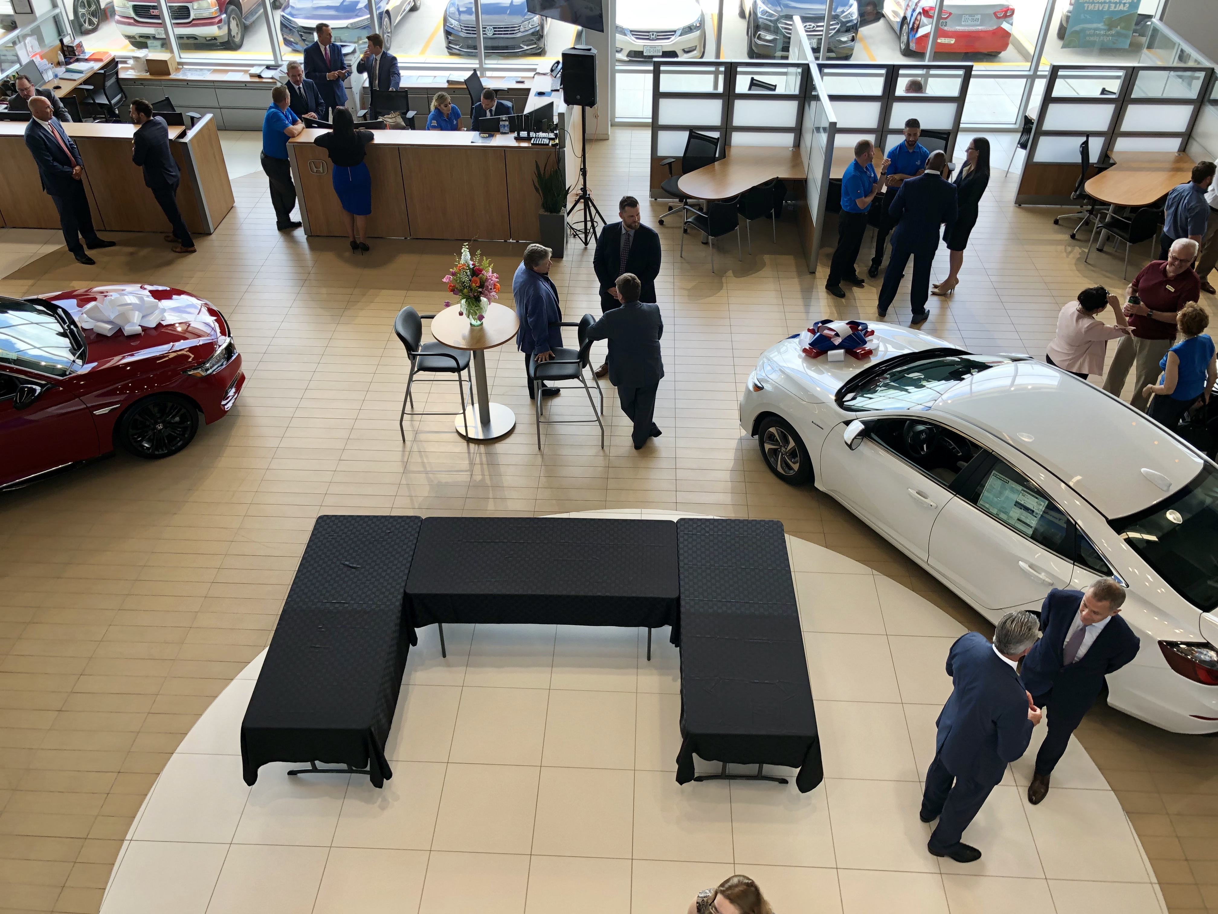 Honda of Tomball Grand Opening – Event Set-Up