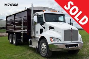 2013 Kenworth Tandem Grain Truck