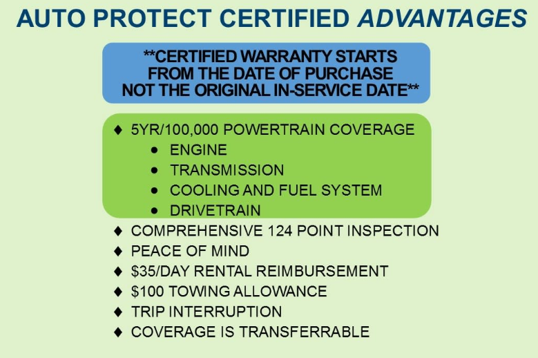 Certified Advantages