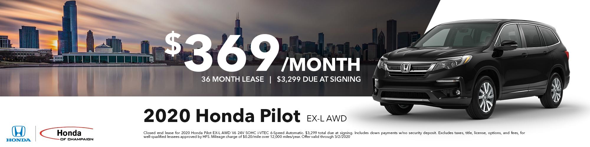 Honda Pilot EX-L Special
