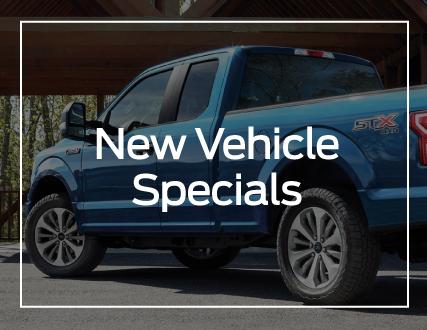Preston Ford New Vehicle Specials