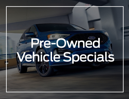 Preston Ford Pre-Owned Vehicle Specials