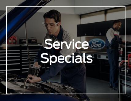 Preston Ford Service Specials