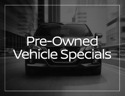 Preston Nissan Pre-Owned Vehicle Specials