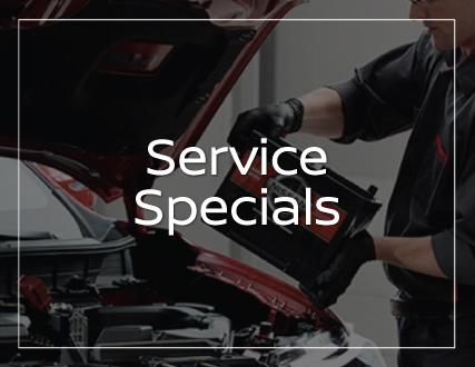 Preston Nissan Service Specials
