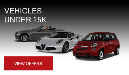 Alfa Romeo & Fiat of Maple Shade Browse Our Vehicle Specials