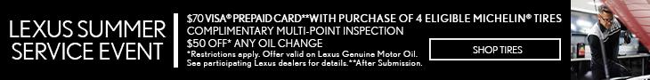 Lexus Shop Tires