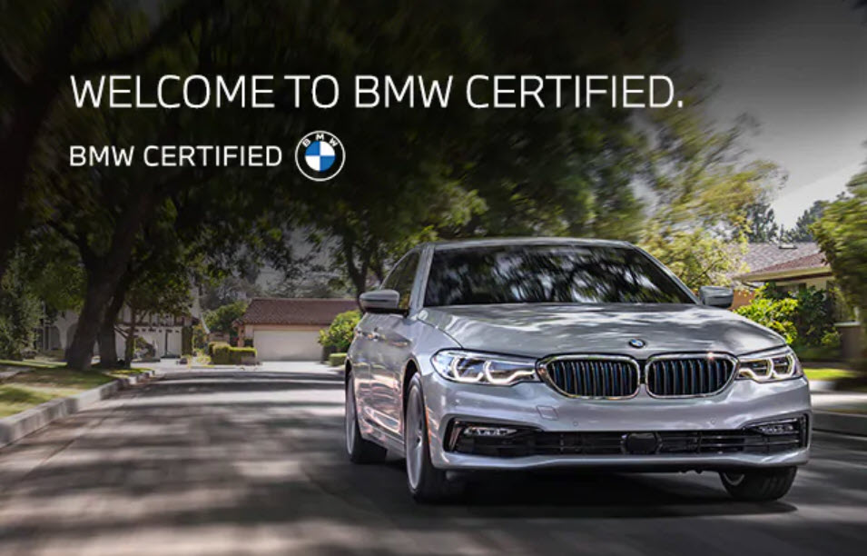 BMW Certified Special Offers