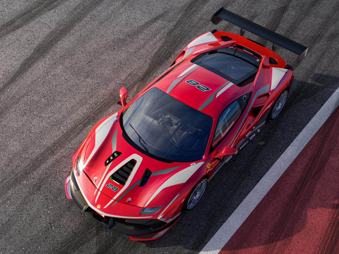 488 Challenge Evo Ferrari Westlake