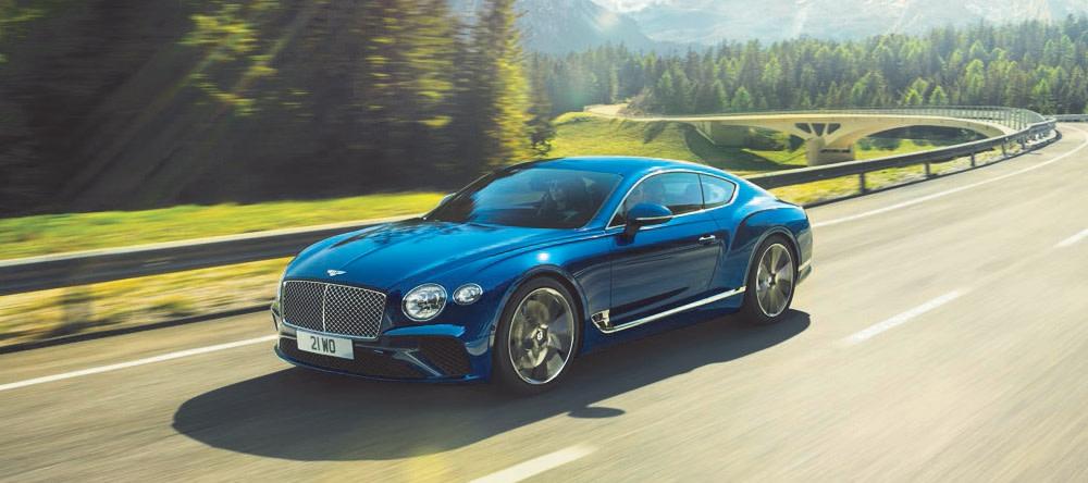 Kết quả hình ảnh cho Bentley New Continental GT 2019