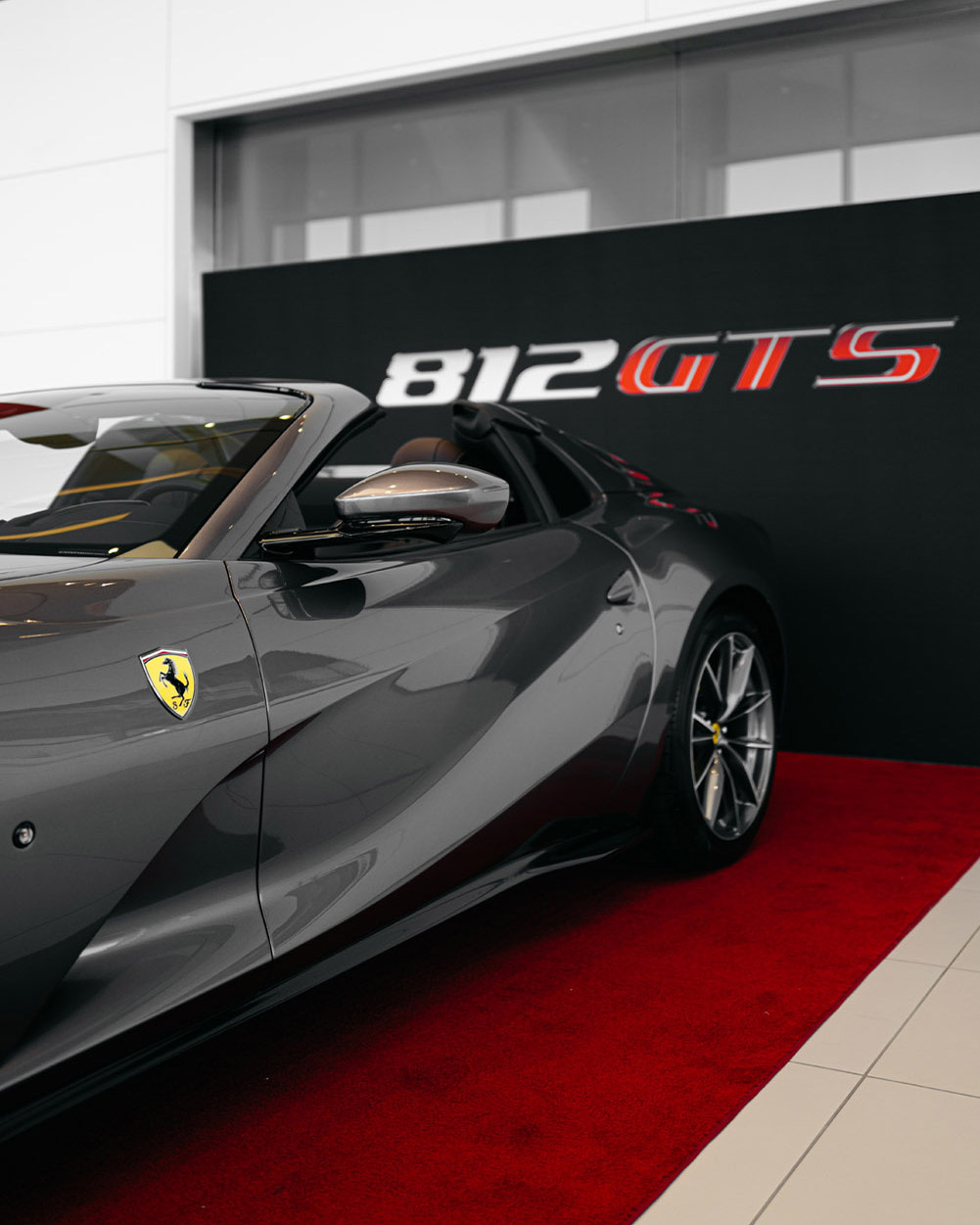 The 812 Gts Makes A Special Appearance At Ferrari South Bay Ferrari South Bay