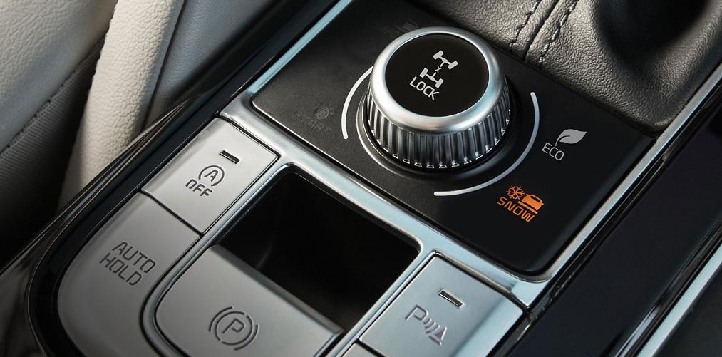 Drive Mode System in the 2020 Kia Telluride