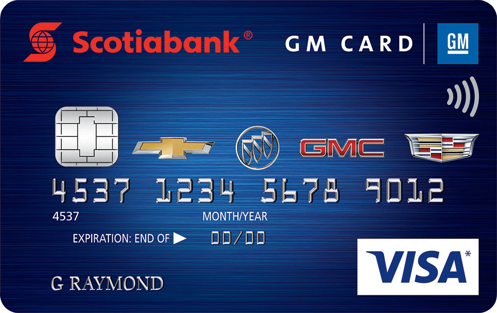 GM Rewards Credit Card offered at Watrous Mainline