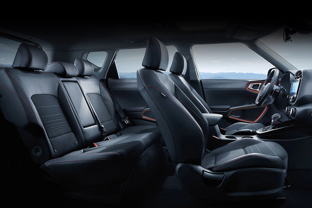 Spacious Seating in the 2020 Soul
