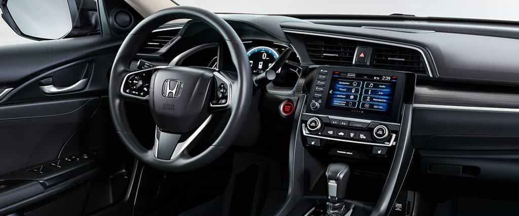 El Honda Civic 2019 cuenta con detalles elegantes y tecnología moderna