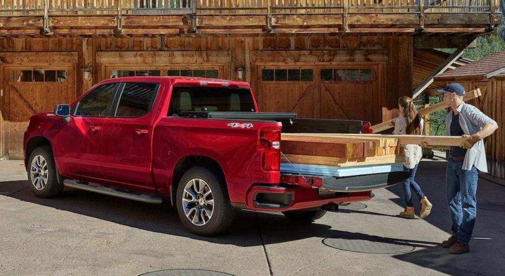 La Chevrolet Silverado 1500 2019 es ideal para trabajos pesados