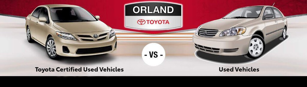 Certified Used Cars >> Toyota Certified Used Vehicles Vs Used Cars In Tinley Park
