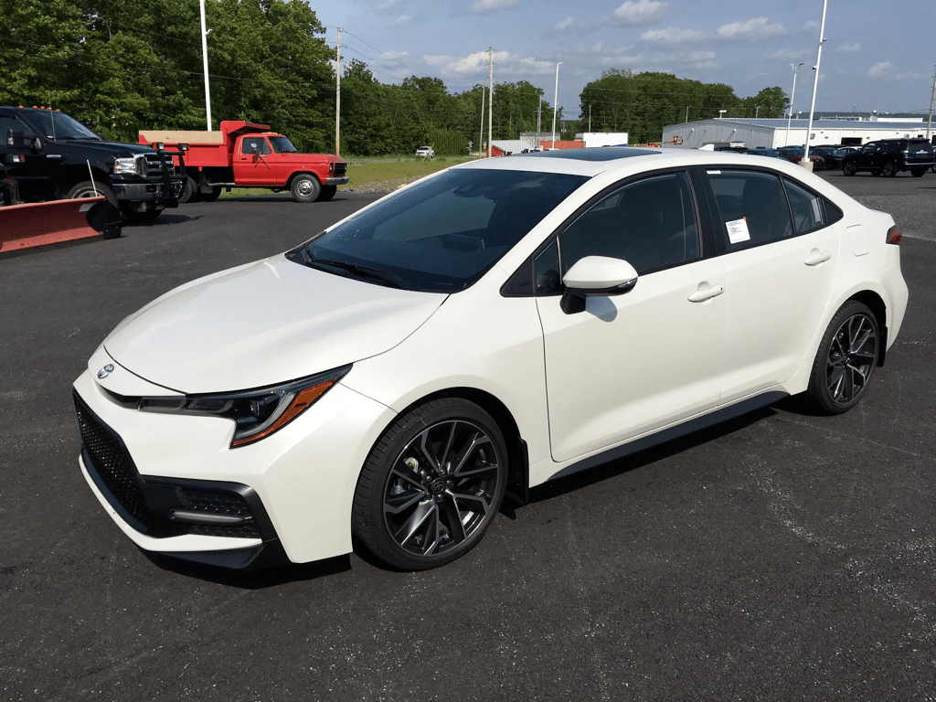 2020 Toyota Corolla SE Sedan Front-wheel Drive