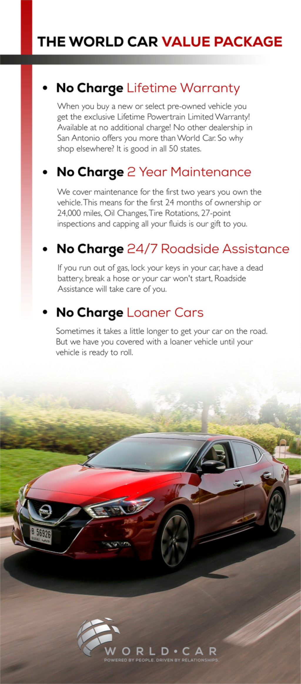 Nissan | Value Package