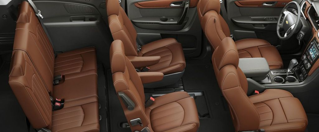 2017 Chevy Traverse Three-row Seating Capacity
