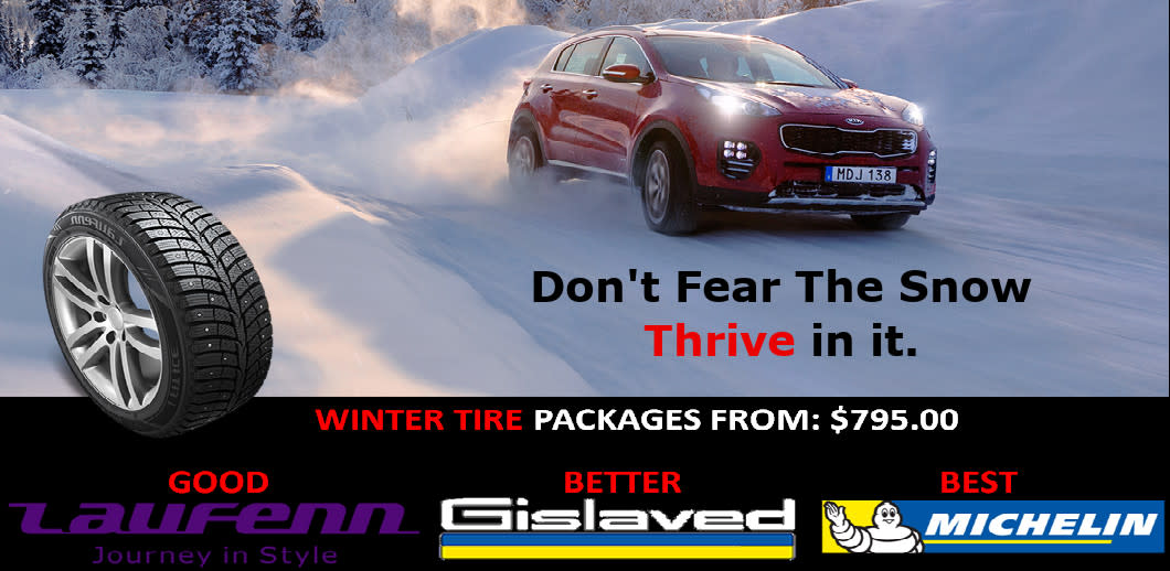 Winter Tires For Your KIA