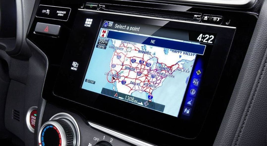 The Fit's Available Honda Satellite-Linked Navigation System™