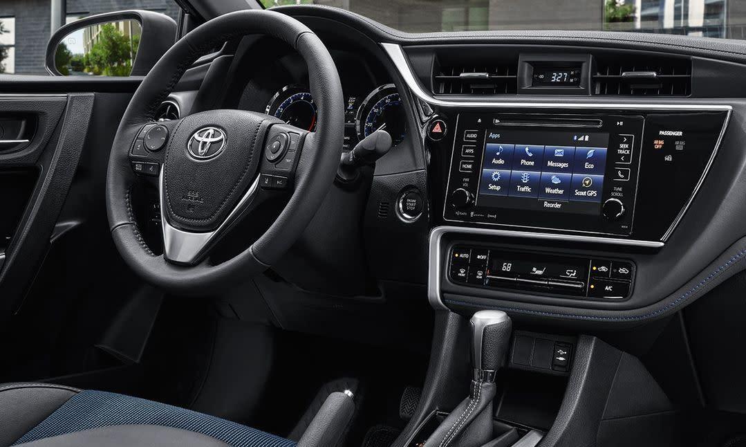 2019 Corolla Interior