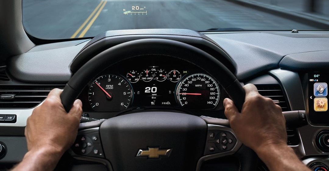 In the Driver's Seat of the 2020 Chevrolet Suburban