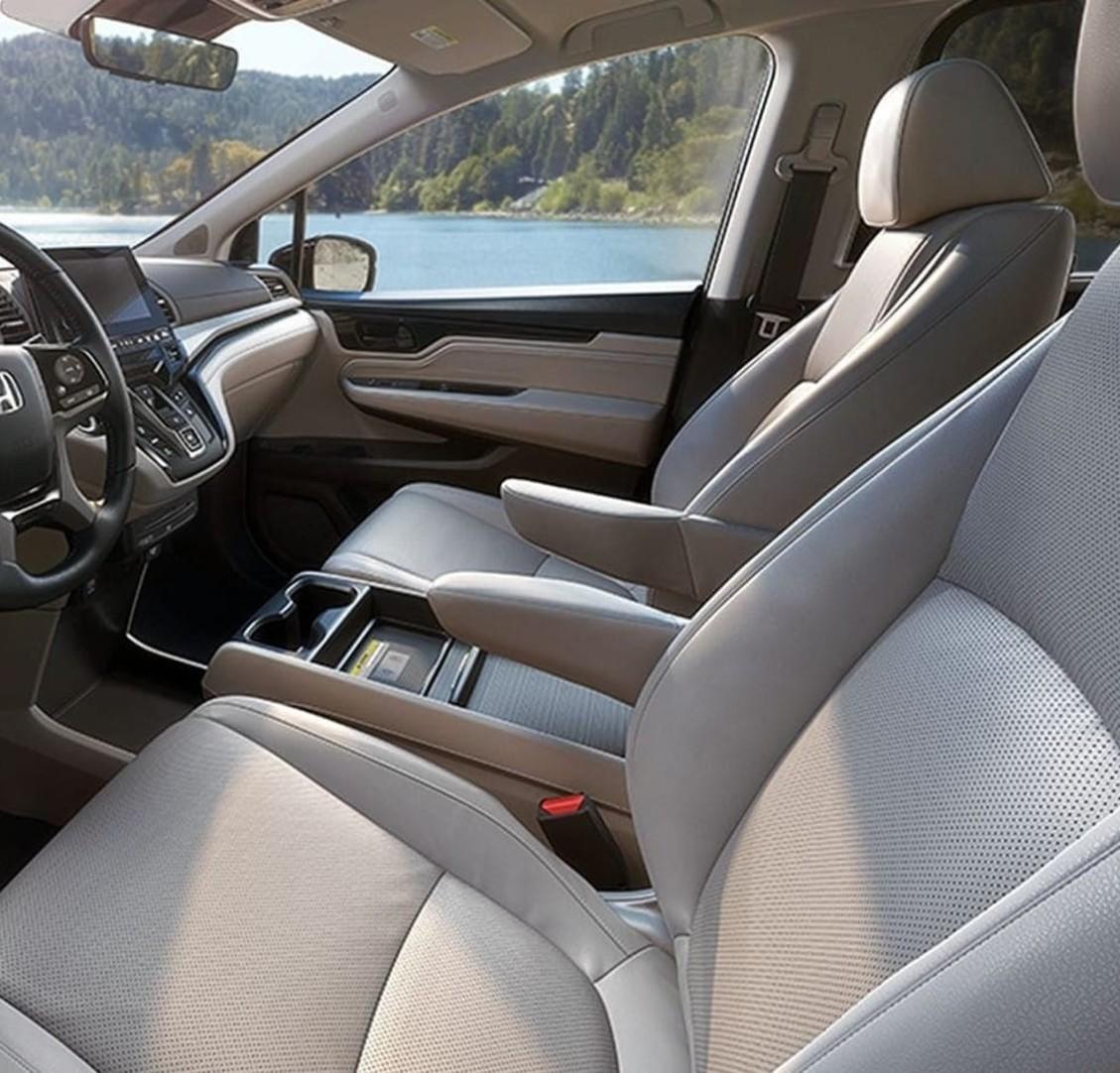 Interior del Honda Odyssey 2020