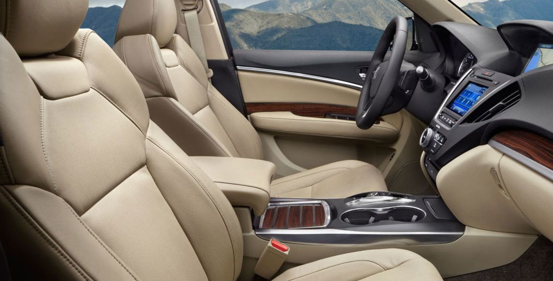2016 MDX Leather Seats