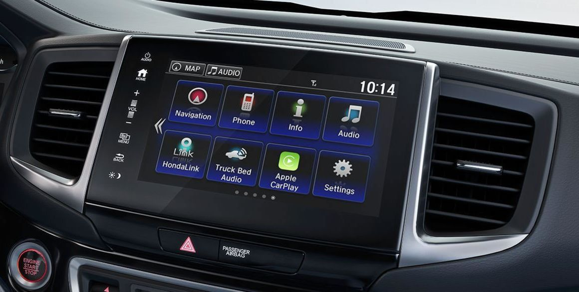 2017 Ridgeline Center Touchscreen