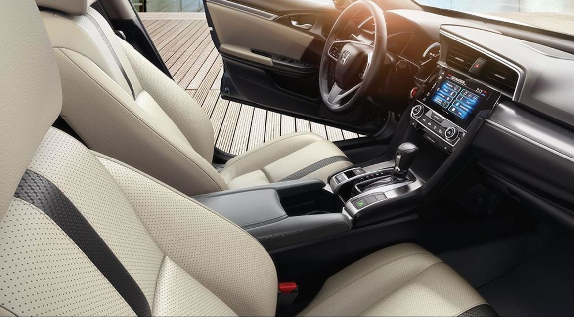 Comfortable Cabin of the Civic