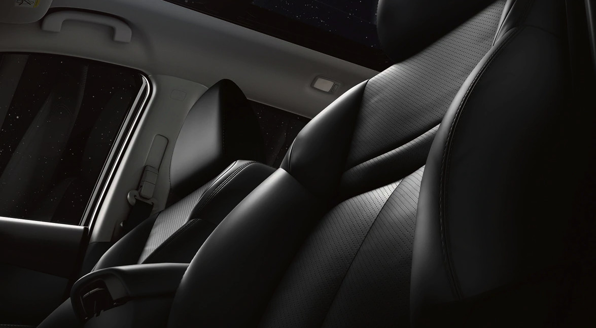 Available Leather-Appointed Seats in the 2020 Nissan Rogue