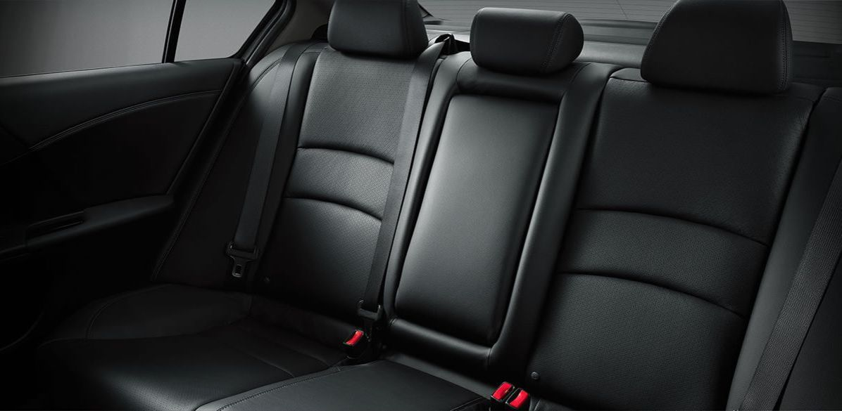 The Backseat of the 2017 Accord is Spacious