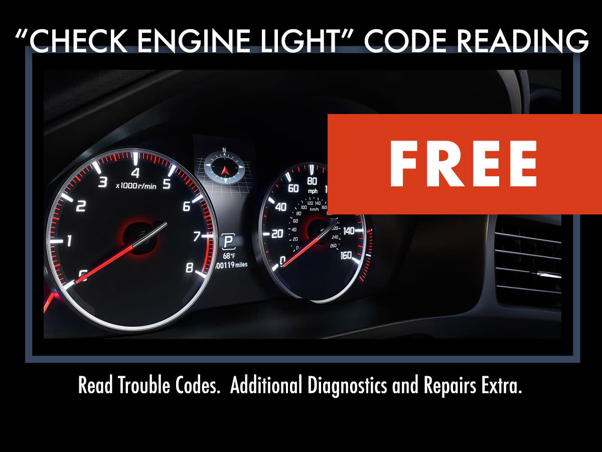Engine Light Codes >> Acura Check Engine Light Code Reading Chicago Il