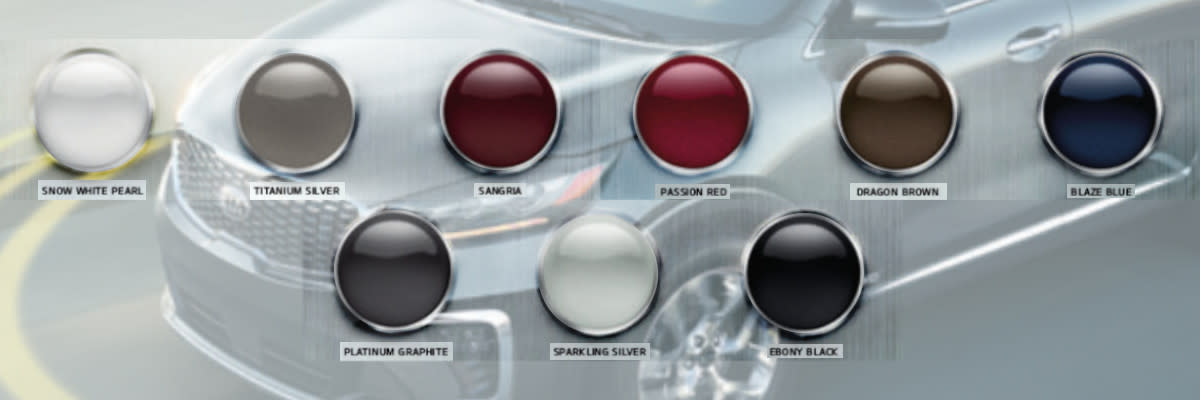 What Colors Can You Find For The Kia Sorento