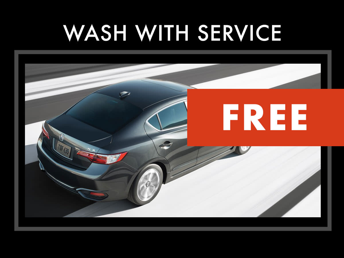 Acura Car Wash with Service Coupon
