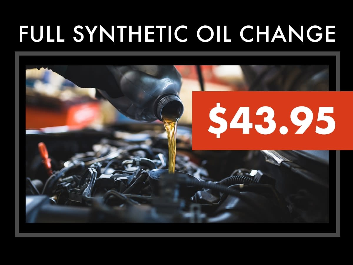 Acura Synthetic Oil Change Coupon
