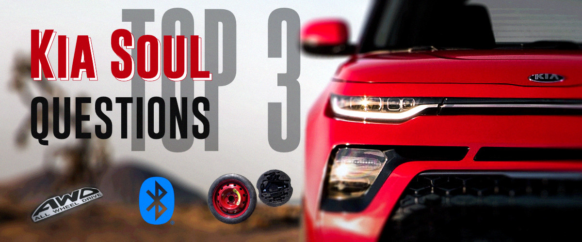 Top 3 Kia Soul Questions: Does the Kia Soul have AWD, Bluetooth & a Spare Tire?