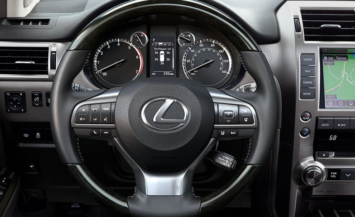 In the Driver's Seat of the 2020 Lexus GX 460