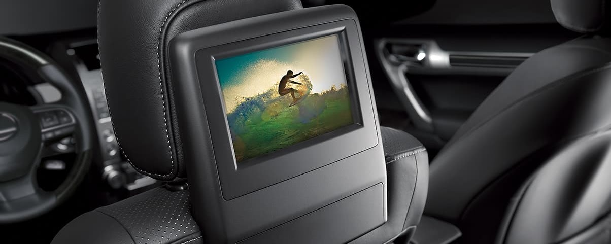 Rear Entertainment System in the 2020 Lexus GX 460