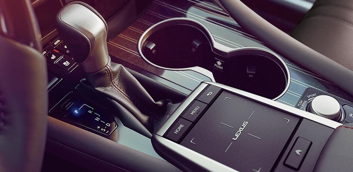 Interior Details of the 2020 Lexus RX 350