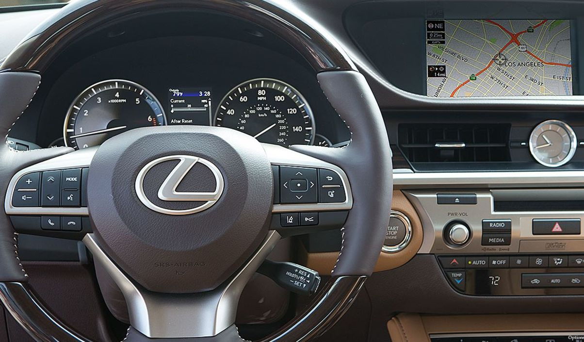 Take the Wheel of a 2017 Lexus ES Today!